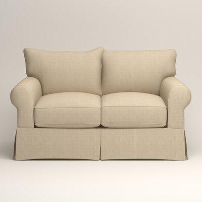 Jameson Loveseat Upholstery: Bryant Oatmeal Textured Slub