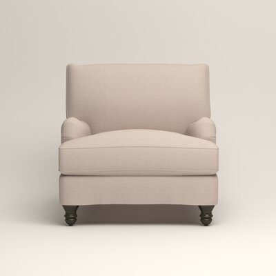 Montgomery Armchair Upholstery: Lizzy Linen