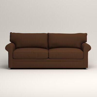 Newton Sofa Upholstery: Jackson Coffee Microsuede