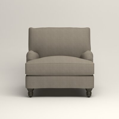 Montgomery Armchair Upholstery: Hilo Seagull