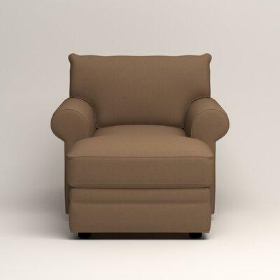 Newton Chaise Upholstery: Jackson Bark Microsuede