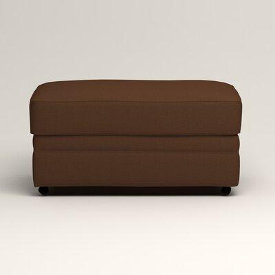 Newton Ottoman Upholstery: Jackson Coffee Microsuede