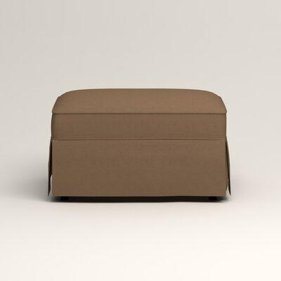 Jameson Ottoman Upholstery: Jackson Bark Microsuede