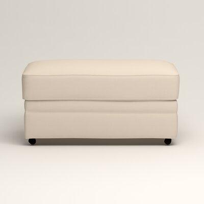 Newton Ottoman Upholstery: Jackson Oyster Microsuede
