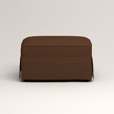 Jameson Ottoman Upholstery: Jackson Coffee Microsuede