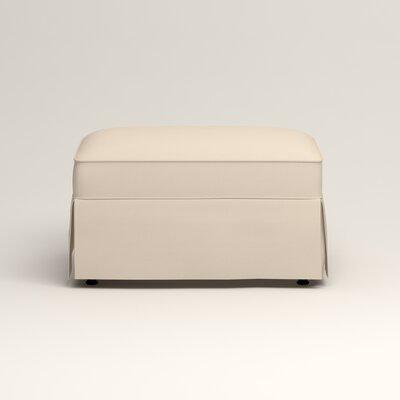 Jameson Ottoman Upholstery: Jackson Oyster Microsuede