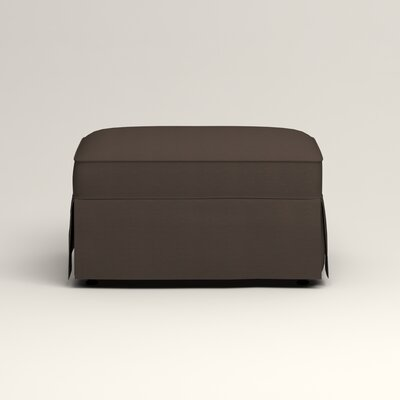 Jameson Ottoman Upholstery: Jackson Storm Microsuede
