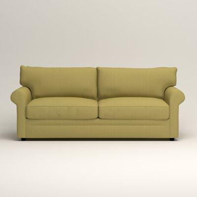 Newton Sofa Upholstery: Bailey Avocado Blended Linen