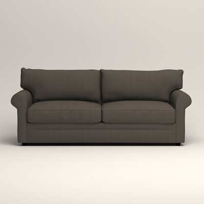 Newton Sofa Upholstery: Bailey Charcoal Blended Linen