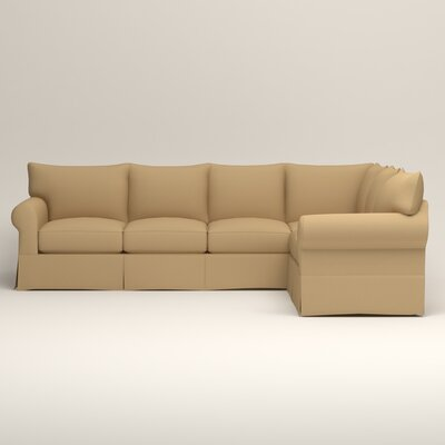Jameson L-Shaped Sectional Upholstery: Bailey Barley Blended Linen, Orientation: Left Hand Facing