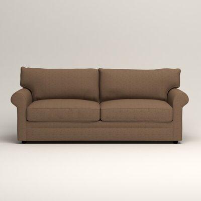 Newton Sofa Upholstery: Bailey Mushroom Blended Linen