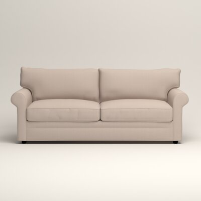 Newton Sofa Upholstery: Bailey Papyrus Blended Linen
