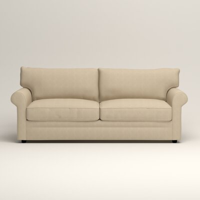 Newton Sofa Upholstery: Bryant Oatmeal Textured Slub