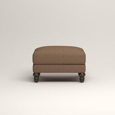 Montgomery Upholstered Ottoman Upholstery: Lizzy Hemp