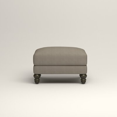 Montgomery Upholstered Ottoman Upholstery: Hilo Seagull