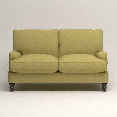 Montgomery Slipcovered Loveseat Upholstery: Lizzy Kiwi