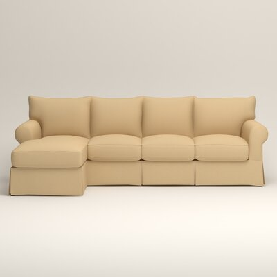Jameson Sofa with Chaise Upholstery: Griffin Buttercup Twill, Orientation: Left