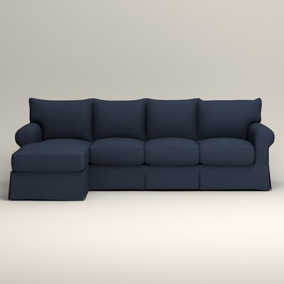 Jameson Sofa with Chaise Upholstery: Griffin Commodore Twill, Orientation: Left Facing