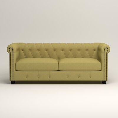 Hawthorn Chesterfield Sofa Upholstery: Lizzy Kiwi