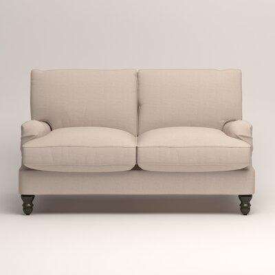 Montgomery Slipcovered Loveseat Upholstery: Lizzy Linen