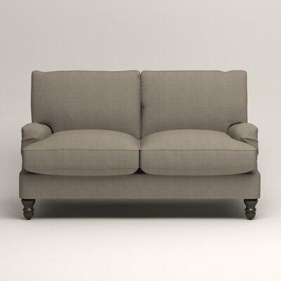 Montgomery Slipcovered Loveseat Upholstery: Hilo Seagull