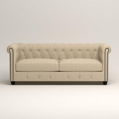 Hawthorn Chesterfield Sofa Upholstery: Hilo Flax