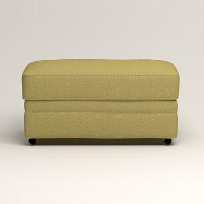 Newton Ottoman Upholstery: Bailey Avocado Blended Linen