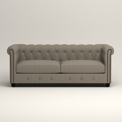 Hawthorn Chesterfield Sofa Upholstery: Hilo Seagull