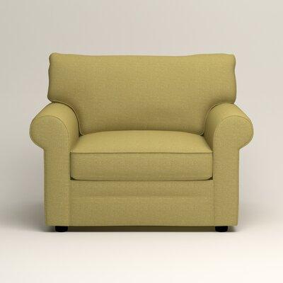 Newton Side Chair Color: Bailey Avocado Blended Linen
