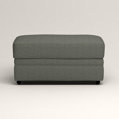 Newton Ottoman Upholstery: Bailey Lagoon Blended Linen