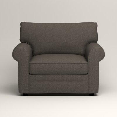 Newton Side Chair Color: Bailey Charcoal Blended Linen