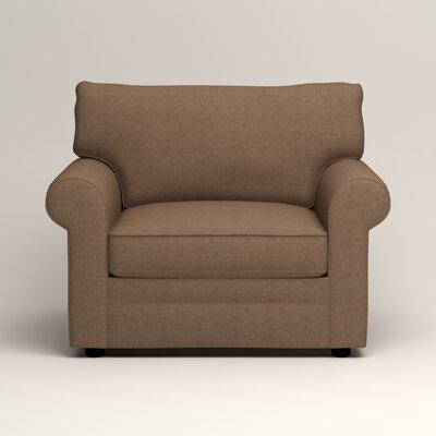 Newton Side Chair Color: Bailey Mushroom Blended Linen