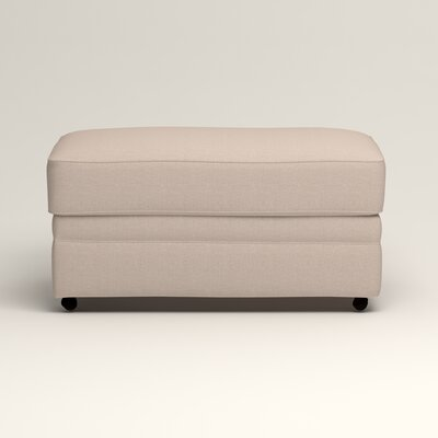 Newton Ottoman Upholstery: Bailey Papyrus Blended Linen