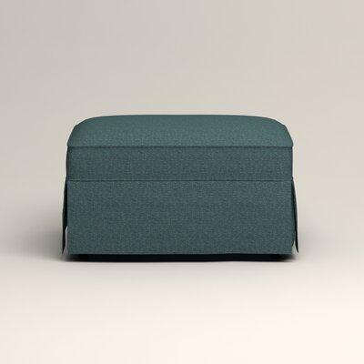 Jameson Ottoman Upholstery: Bailey Aegean Blended Linen