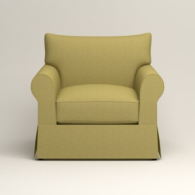 Jameson Chair Fabric: Bailey Avocado Blended Linen