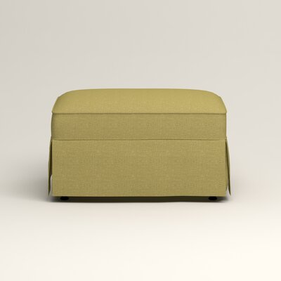 Jameson Ottoman Upholstery: Bailey Avocado Blended Linen