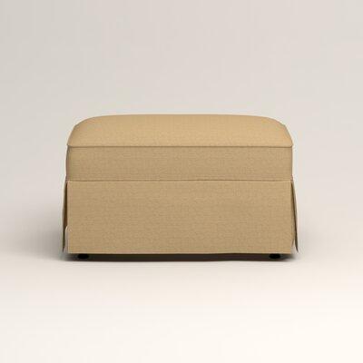 Jameson Ottoman Upholstery: Bailey Barley Blended Linen