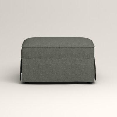 Jameson Ottoman Upholstery: Bailey Lagoon Blended Linen