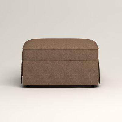 Jameson Ottoman Upholstery: Bailey Mushroom Blended Linen