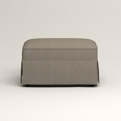 Jameson Ottoman Upholstery: Bryant Slate Textured Slub