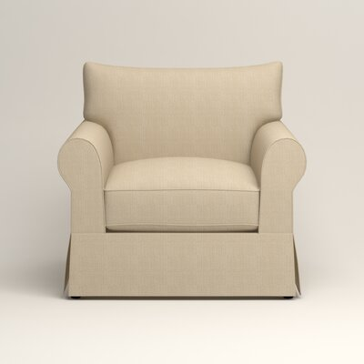 Jameson Chair Fabric: Bryant Oatmeal Textured Slub