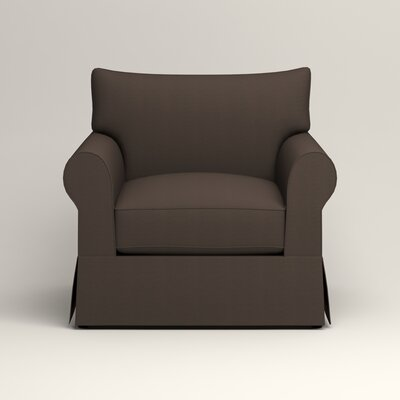 Jameson Chair Fabric: Jackson Storm Microsuede