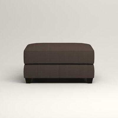 Hawthorn Ottoman Upholstery: Microsuede Charcoal