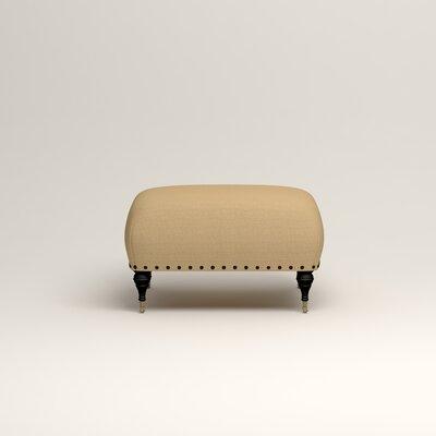 Shephard Ottoman Upholstery: Trillion Saffron