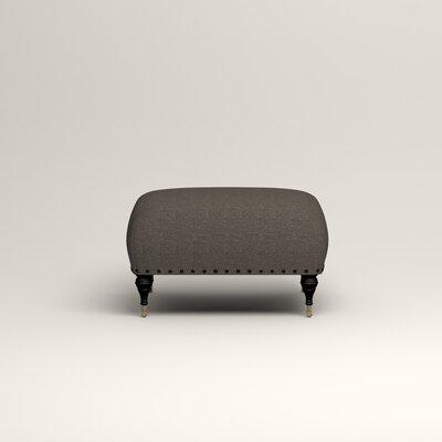 Shephard Ottoman Upholstery: Lizzy Graphite