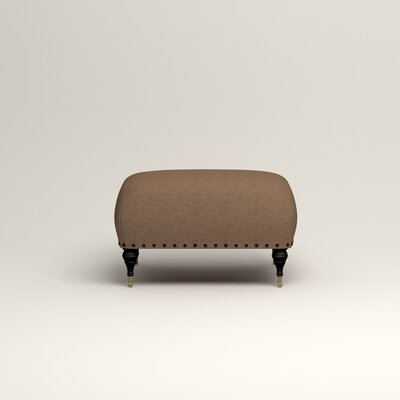Shephard Ottoman Upholstery: Lizzy Hemp