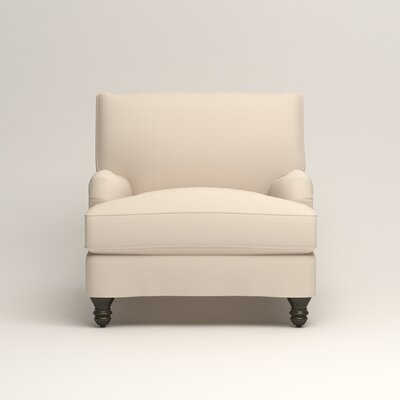 Montgomery Armchair Upholstery: Microsuede Oyster