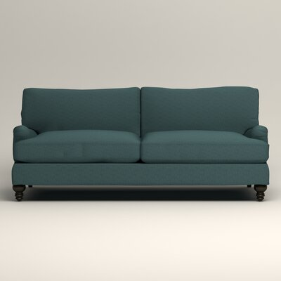 Montgomery Upholstered Sofa Upholstery: Lizzy Prussian
