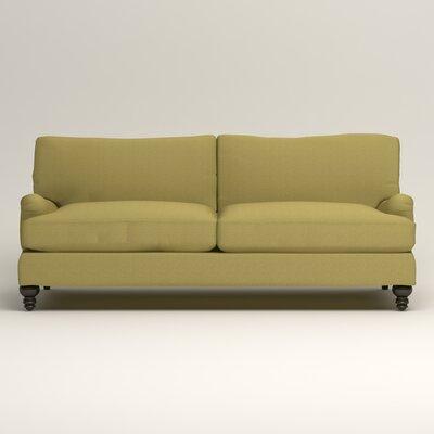 Montgomery Upholstered Sofa Upholstery: Lizzy Kiwi