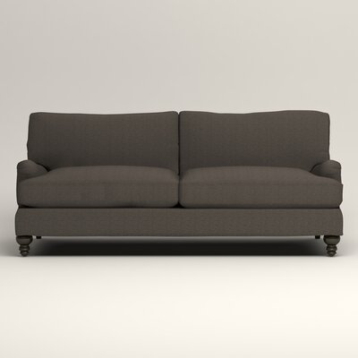 Montgomery Upholstered Sofa Upholstery: Lizzy Graphite